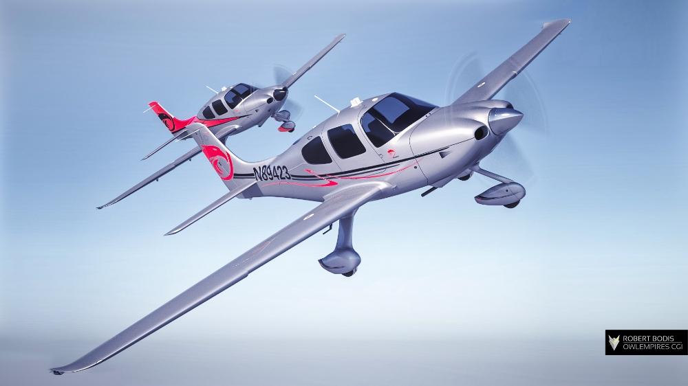 Cirrus SR22 from Sierra Skyport