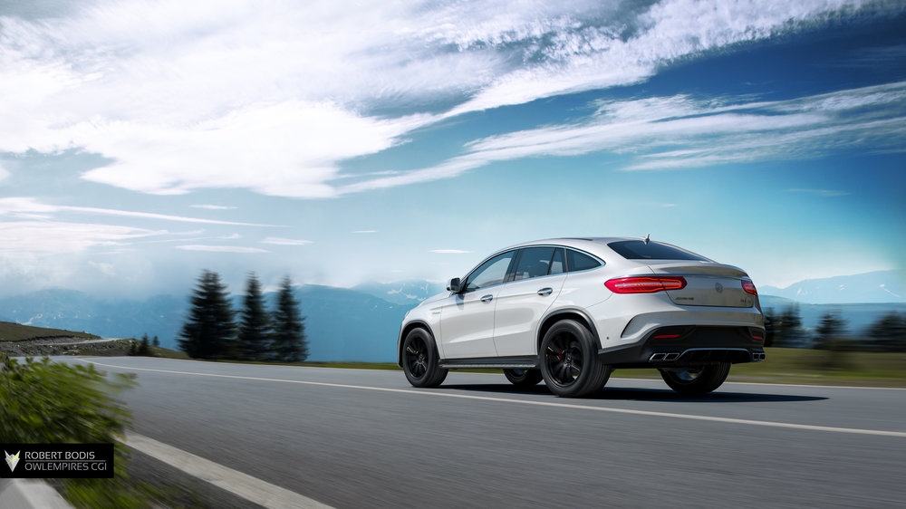 Mercedes AMG GLE63 Outdoors