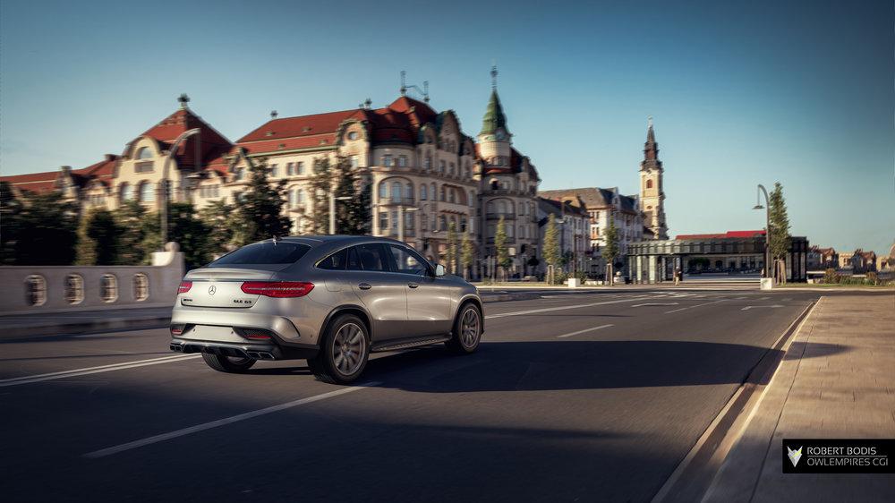 Mercedes AMG GLE63 Urban