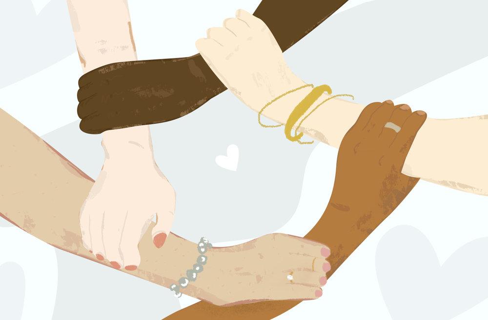 Illustration for a story on Gun Violence Survivors
