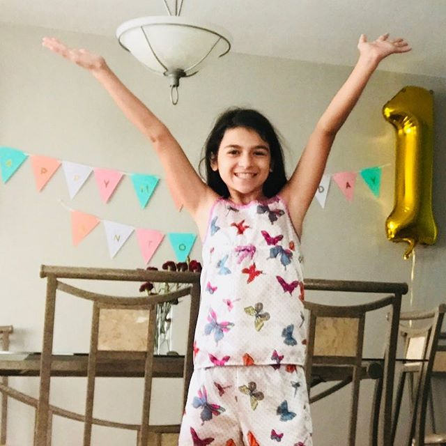 Happy birthday to our fiery 🔥 leo.  Love, love, love this girl's energy.  Powerful from day one.  Eleven years old today.  Not a care in the world.  I love you like you'll never understand and the peace that you have is a gift that I'm so honored to witness.  Love you so much. 💕💕 #girl #girlpowered #likeagirl #women #goddess #gratitude #beautiful #happy #follow #shine #daughters #photooftheday #love #instagood #positive #inspiration #dreams #daily #quotes #love #inspire #loveyou #universe #empoweringwomen #empowerment #nycworkshop #cutting #selfharm #depression #lessonsformydaughters