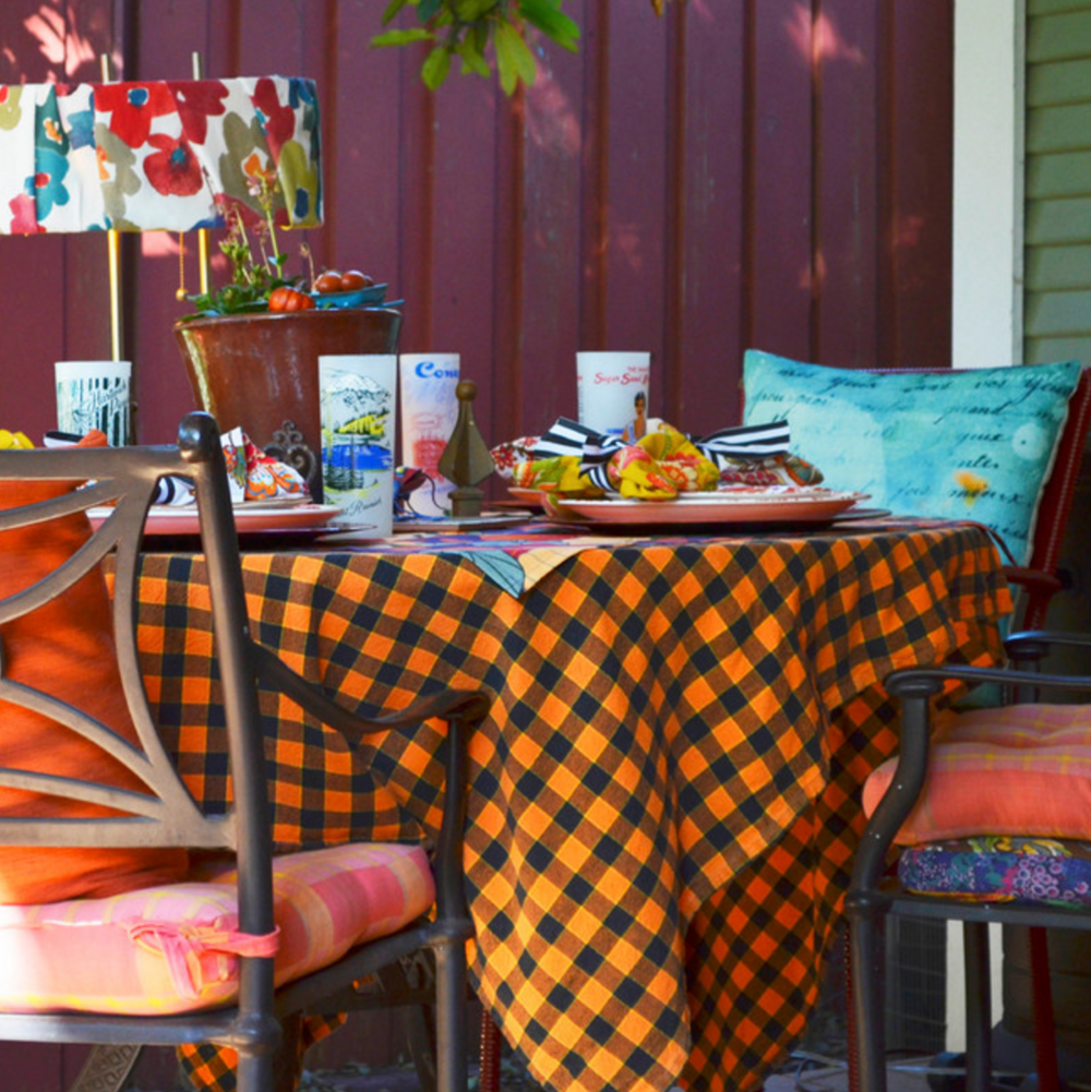 Colorful Bungalow  |  Mark & Priscilla Rieves