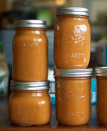 five-pints-of-gingery-peach-butter.jpg