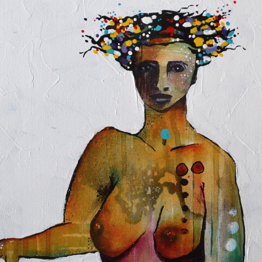 Hera  | 10 x 20 inch acrylic on canvas