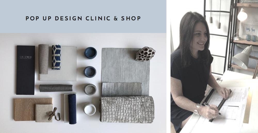 Pop Up Design Clinic & Shop