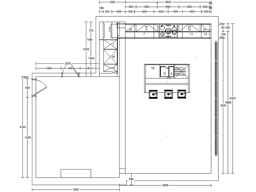 DESIGN DRAWINGS - We offer detailed technical design drawings to hand over to your tradespeople. We survey your property to obtain precise dimensions and then draw up the plans required. Call us to book a free consultation to discuss your requirements for your project.