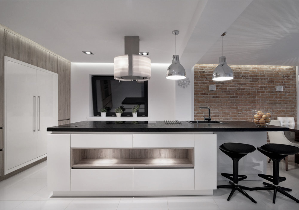 KITCHEN RE-DESIGN - We work on kitchen projects large or small. We can help you design and install your new kitchen and project manage any building works, plastering, tiling, bespoke joinery and installation from the start to finish. We create kitchens that are aesthetically pleasing and functional for your requirements. Call us to book a complimentary design consultation.