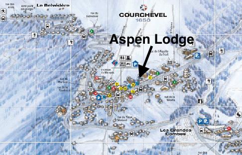 Location - Chalet Aspen