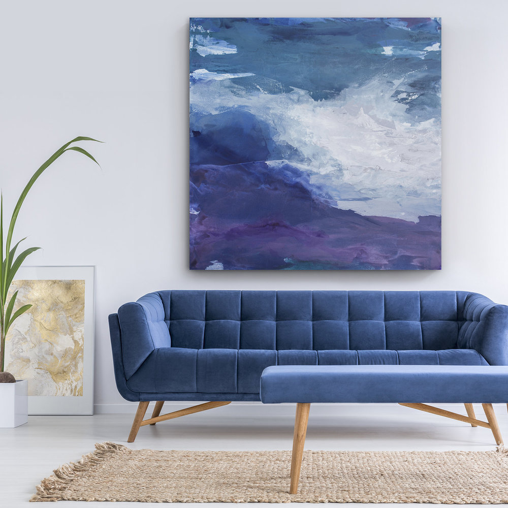 Abstracts - Julia's collection of abstract reproductions are custom-made to your exact specifications. Select from gallery wrapped canvases and framed works on paper.