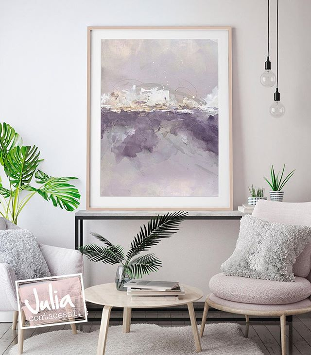 "Gestural marks and layered washes of paint combine to create an abstract landscape which feels like the perfect escape. Say hello to ""Castle"". Prints coming soon."