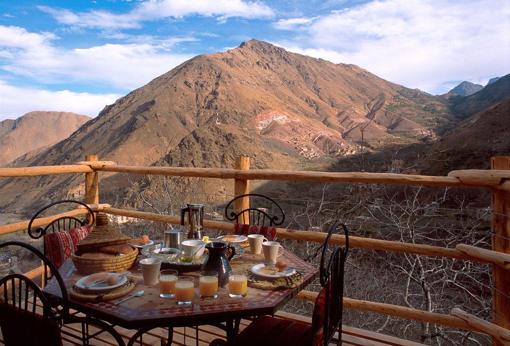 Kasbah Du Toubkal Balcony View