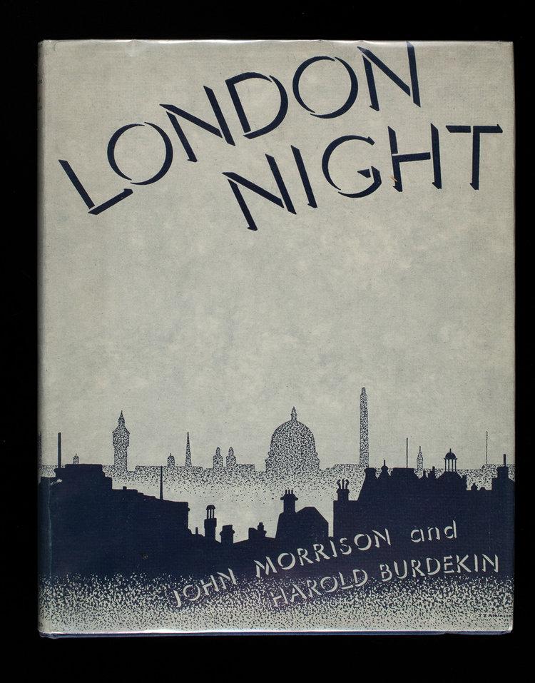 London Night, by Harold Burdekin and John Morrison