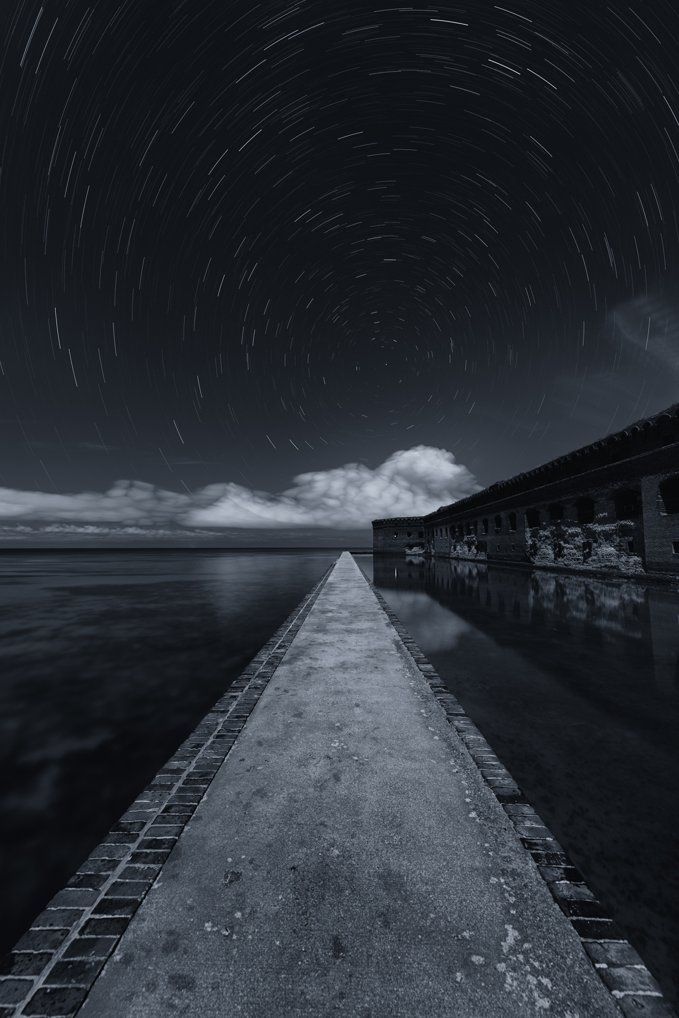 How I Got the Shot Walkway to the Stars at Dry Tortugas National Park
