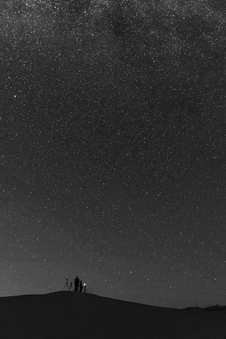 Under the Milky Way. 20 seconds, f/2.8, ISO. 20mm lens.