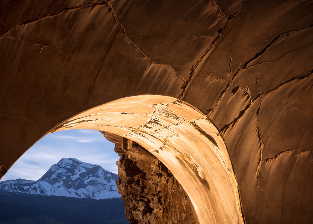 Tunnel, Heavens Peak
