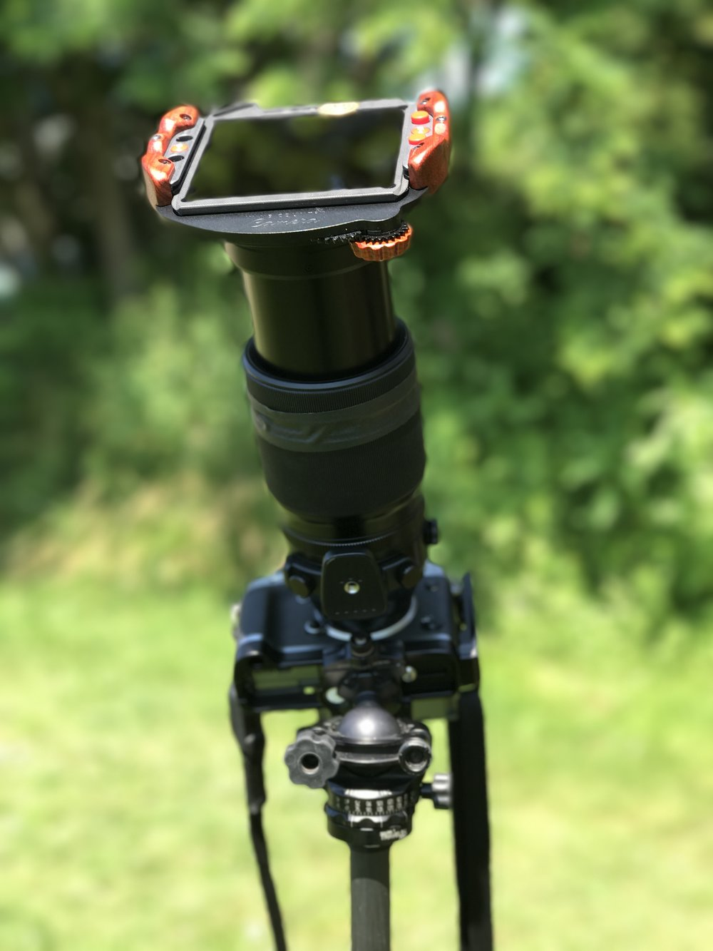 Wine Country Filter Holder system and 100-400mm lens.