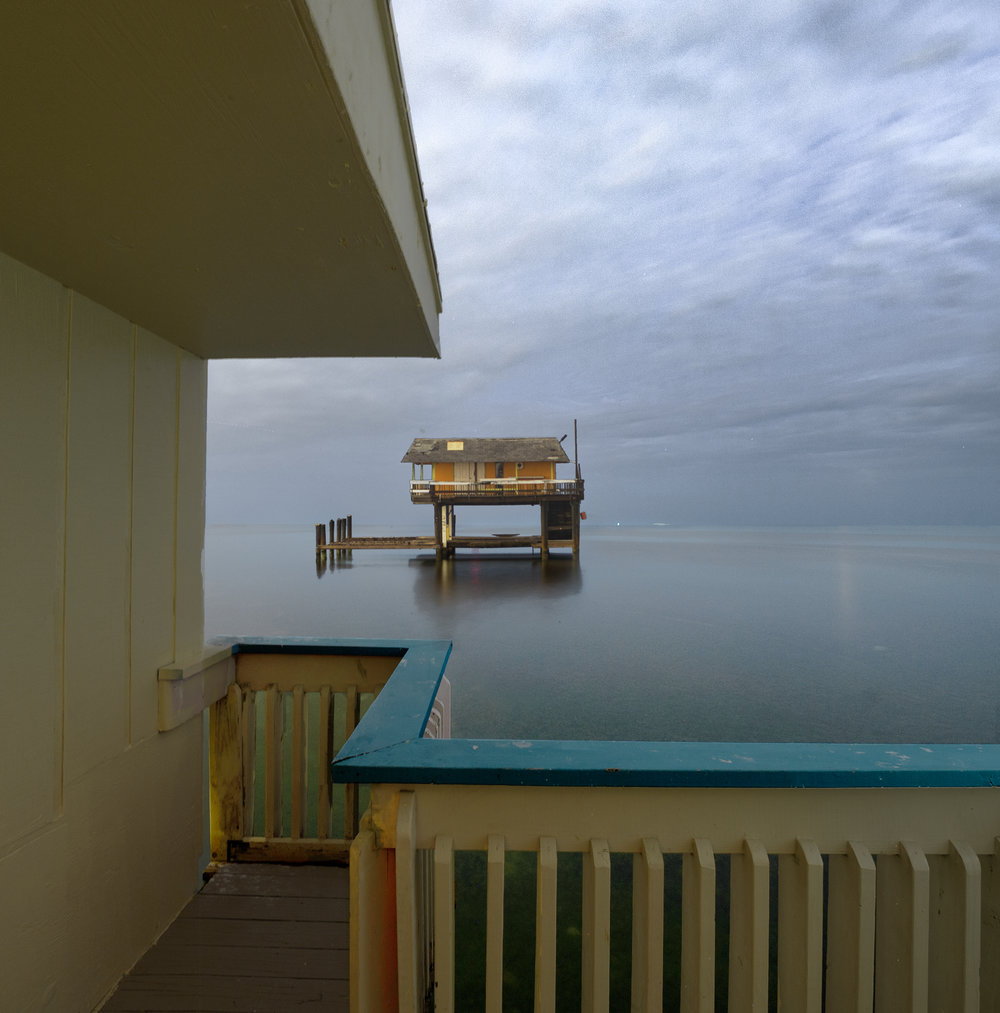 Stiltsville from Baldwin Sessions House