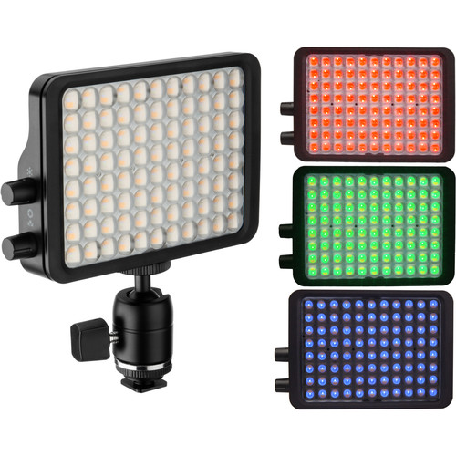 "Luxli Viola 5"" On-Camera RGB LED Light"