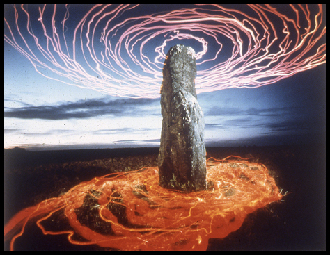 "Figure 1. ""Positive Energy Emitter,"" 1992 Jan Pohribný. From the series New Stone Age."