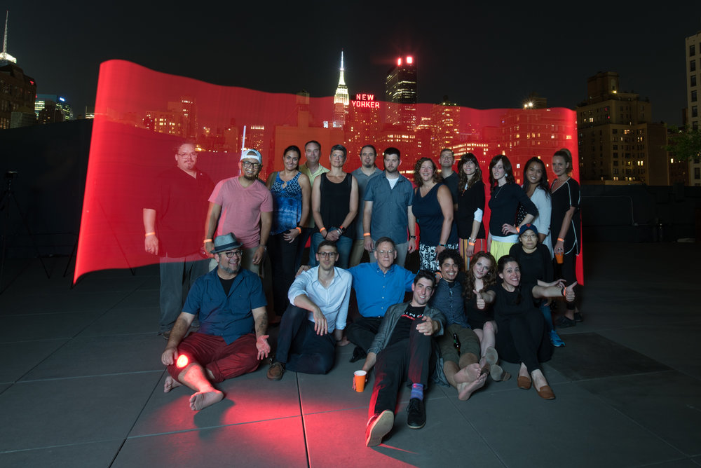 Last year we partnered with the New York Adventure Club, sponsored by by  B&H photo  and  Hudson Mercantile , to host a light painting class on a secret rooftop in Manhattan.