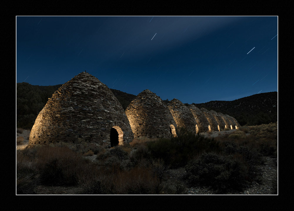 Wildrose Charcoal Kilns, Death Valley National Park. © 2017 Lance Keimig.