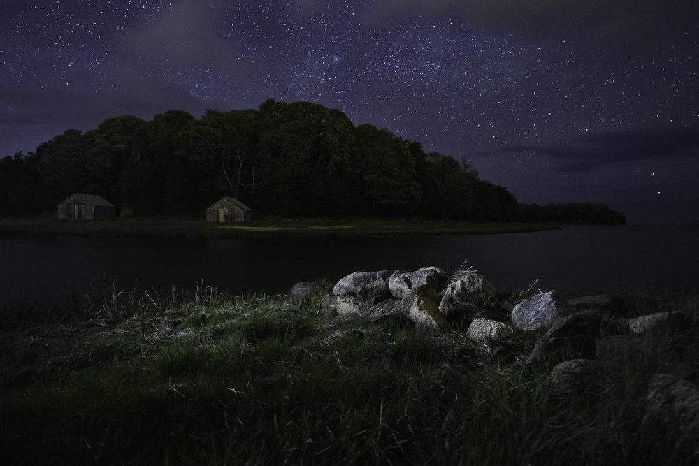 Cape Cod National Seashore, Massachusetts.  Nikon D5 ,  14-24mm f/2.8  lens. 20 seconds, f/3.5 ISO 8000.