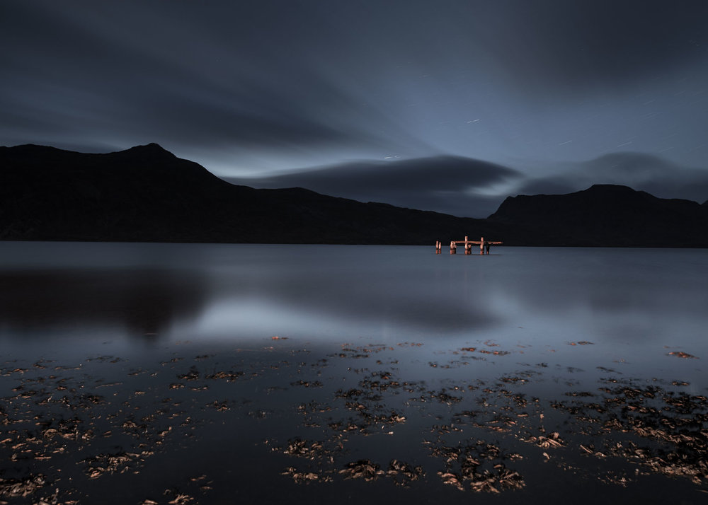 Westfjords, Iceland. Nikon D750,  Sigma 24mm f/1.4 Art  lens, 5 1/2 minutes, f/5, ISO 800.