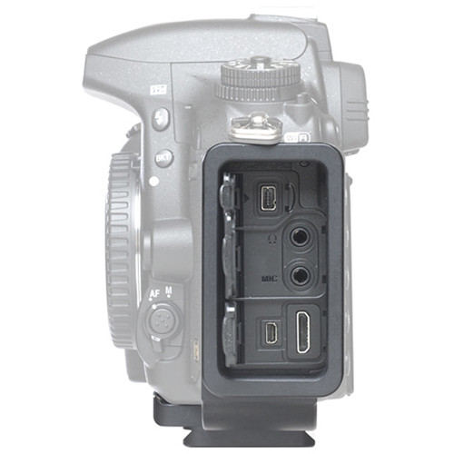 Custom-designed L-brackets (such as the  Kirk  model for the Nikon D750, pictured here) allow the photographer to access all the jacks, ports, controls and so on.