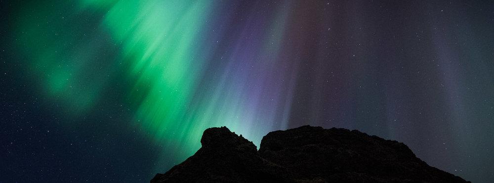 Aurora, Westfjords, Iceland. Nikon D750. © Lance Keimig.