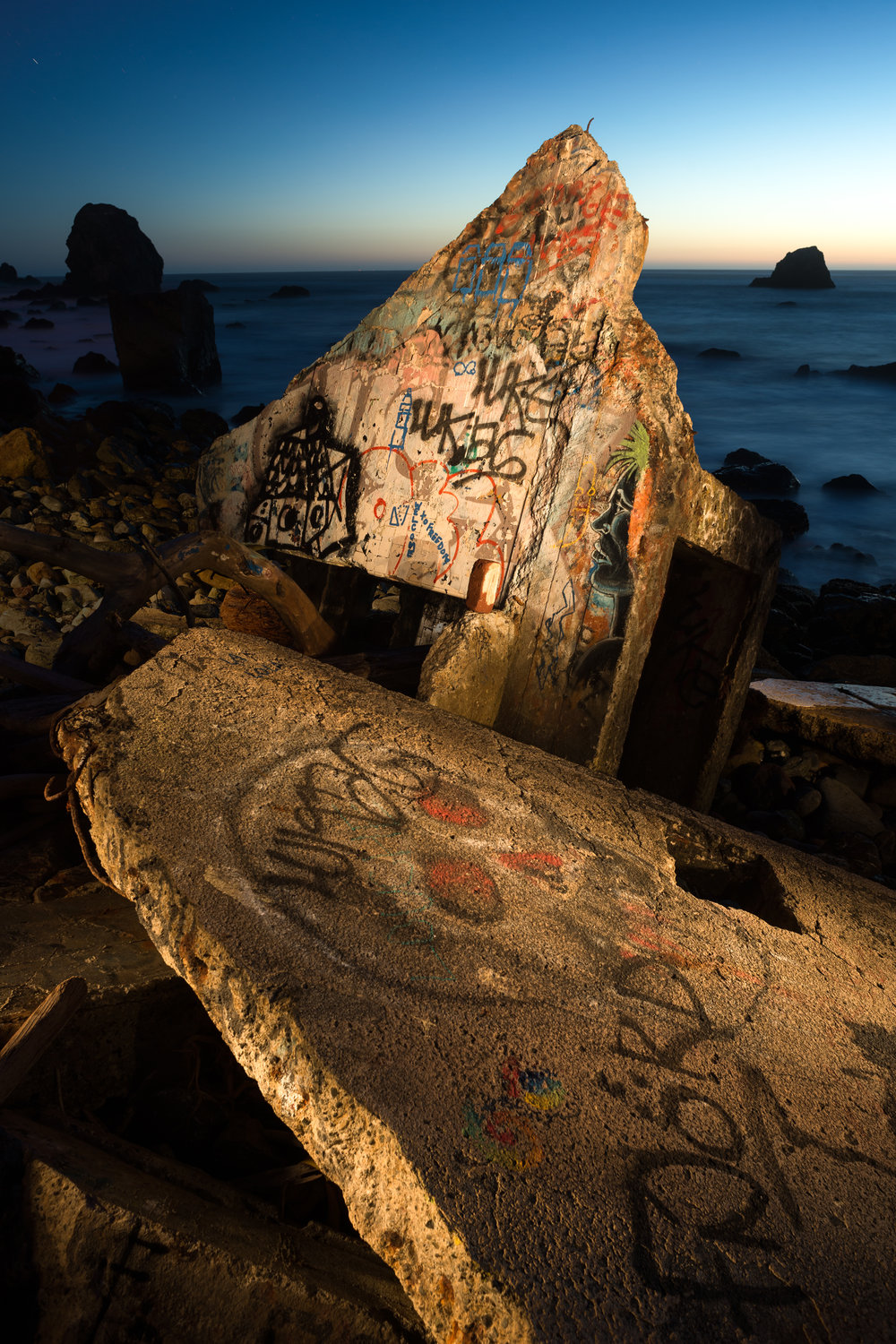 Graffiti & Concrete, Lands End, CA