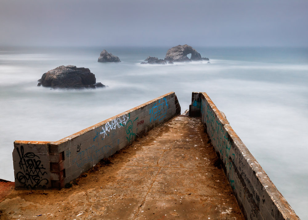 View Point, Sutro Baths, San Francisco, CA.