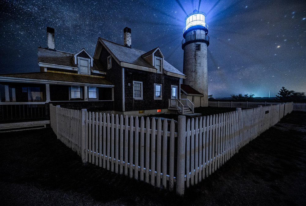 Cape Cod and the Province Lands—WAITLIST ONLY - Photograph under the starry night skies of Cape Cod's Province Lands, among towering lighthouses, rolling sand dunes and peaceful shores.