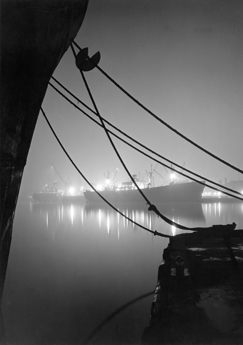 Baltimore Harbor, 1949