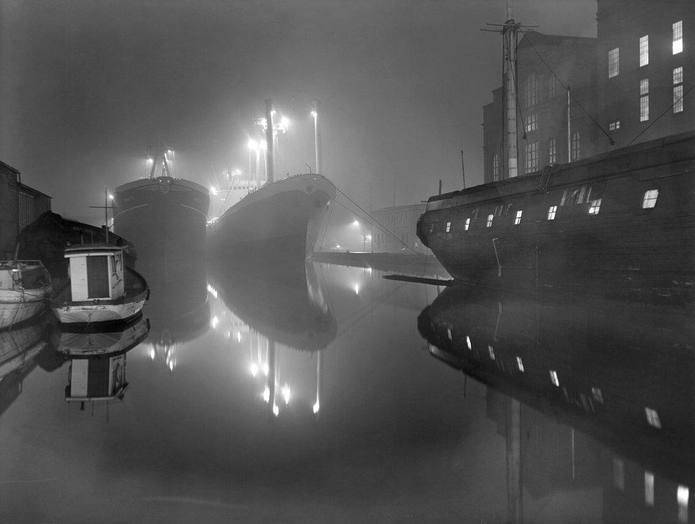 Harbor Fog, c. 1950