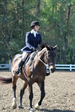 Rider Kalene Beachum at IEA Zone Finals