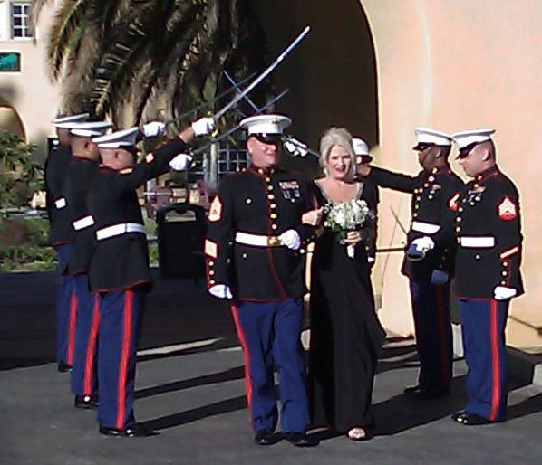 Our Wedding at MCRD