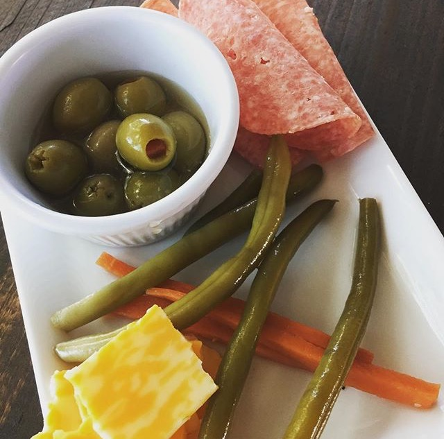 veggies, cheese, olives plate.jpg