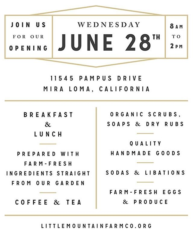 Less than a week away! Our Market and Organic Eatery opens next Wednesday! Come on by and check us out! #littlemountainfarmco #organic #foodie #breakfast #lunch #farmtotable #organicsoap #organicscrub #organicrub #handmadegoods #gifts #freshherbs #organicproduce