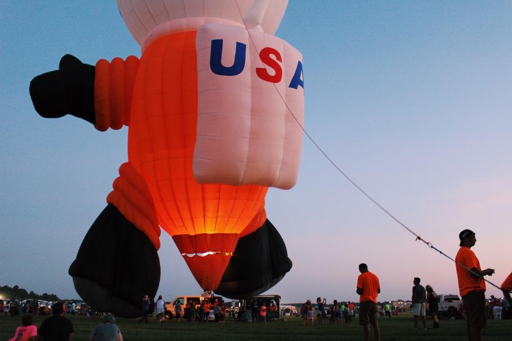 USA Space Balloon Man