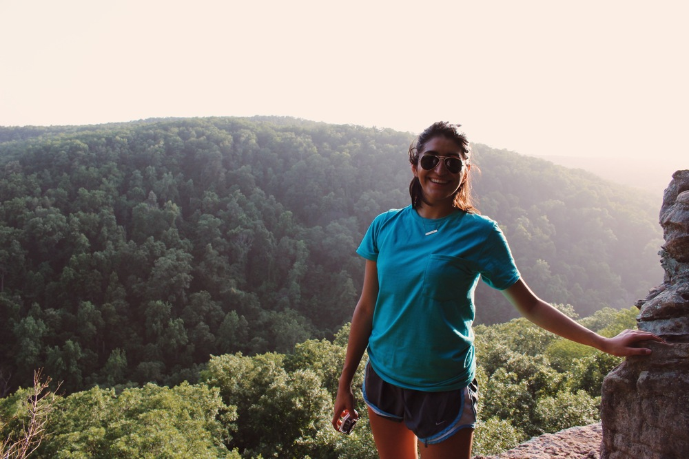 Trail to Whitaker Point