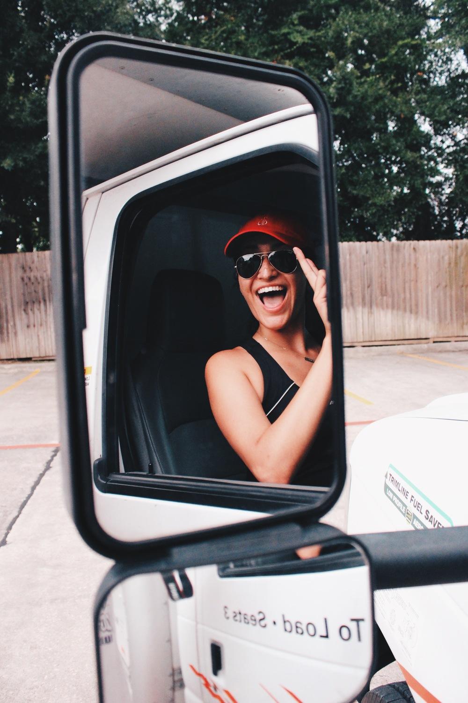 Lufkin in my rear-view mirror