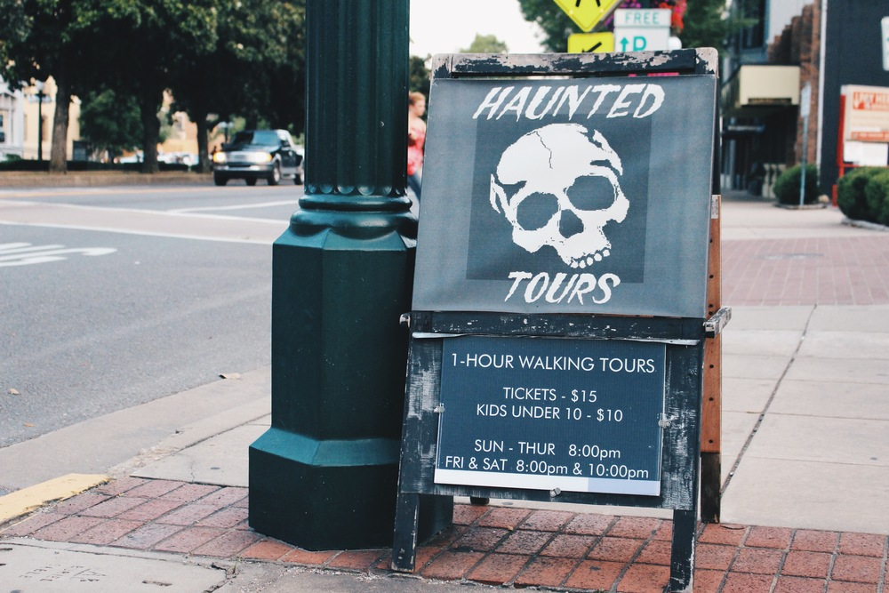 Hot Springs Haunted Ghost Tour