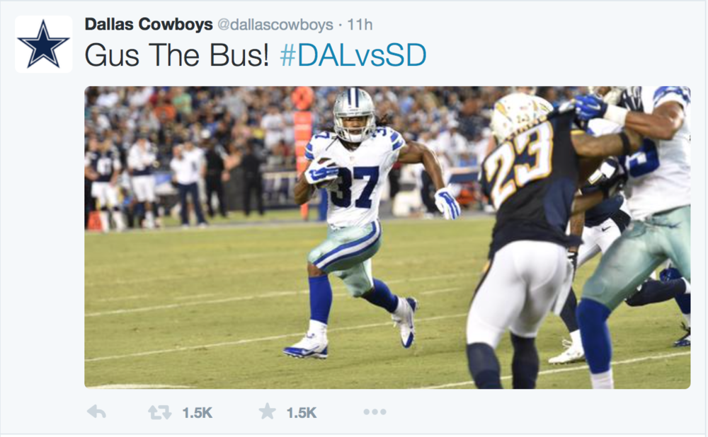 Official Cowboys Twitter