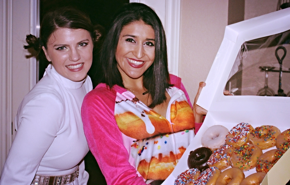 "Can't be ""a dozen doughnuts"" and not bring a dozen doughnuts to the party!"