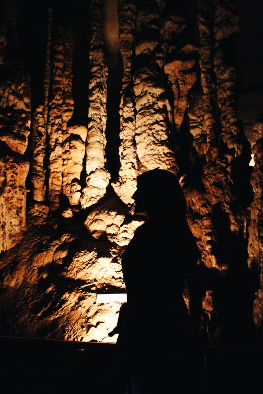 """Fairy Castle"" at Natural Bridge Caverns"