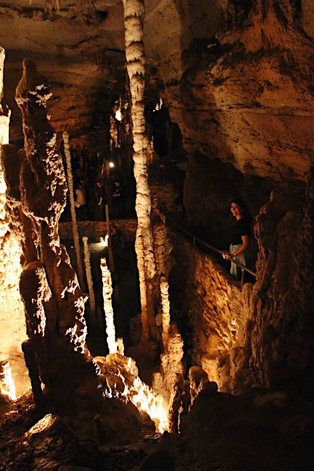 """Bring a jacket,"" they said. ""It might be chilly,"" they said.  A word of advice, Natural Bridge Caverns is  warm ... sticky and very warm."