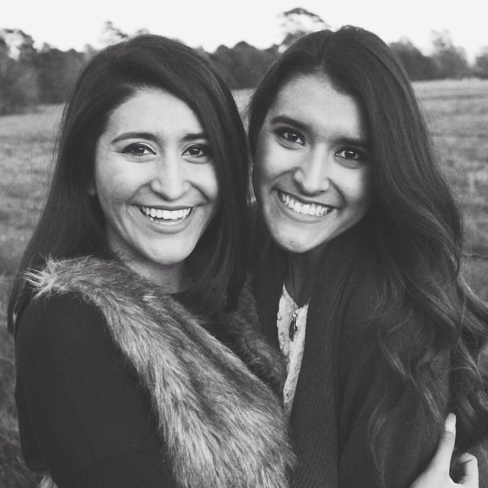 Sisters First - Christmas 2015 with my sweet sister/soulmate Julia Bazaldua Nowak.