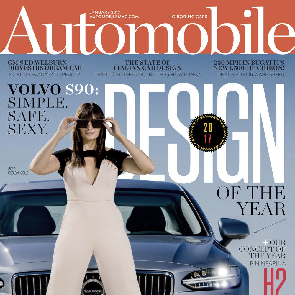 Automibile Magazine, Jan. 2017