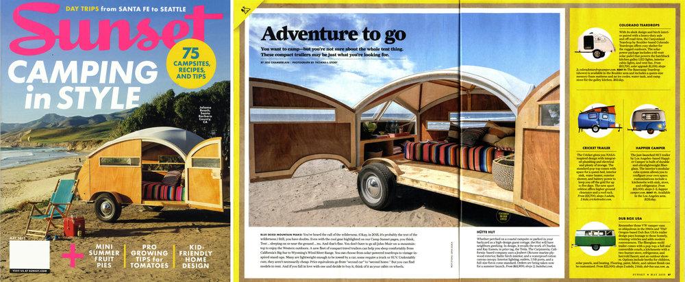 Sunset Magazine  May 2015