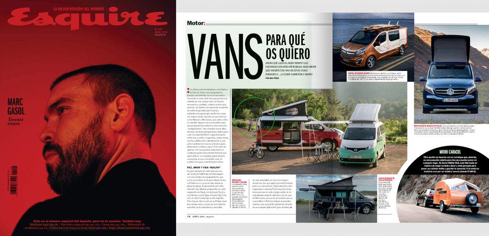 Esquire España  April 2019